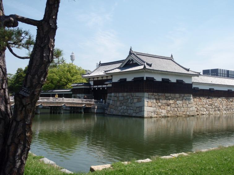 Around Hiroshima castle