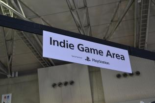 Indie game area
